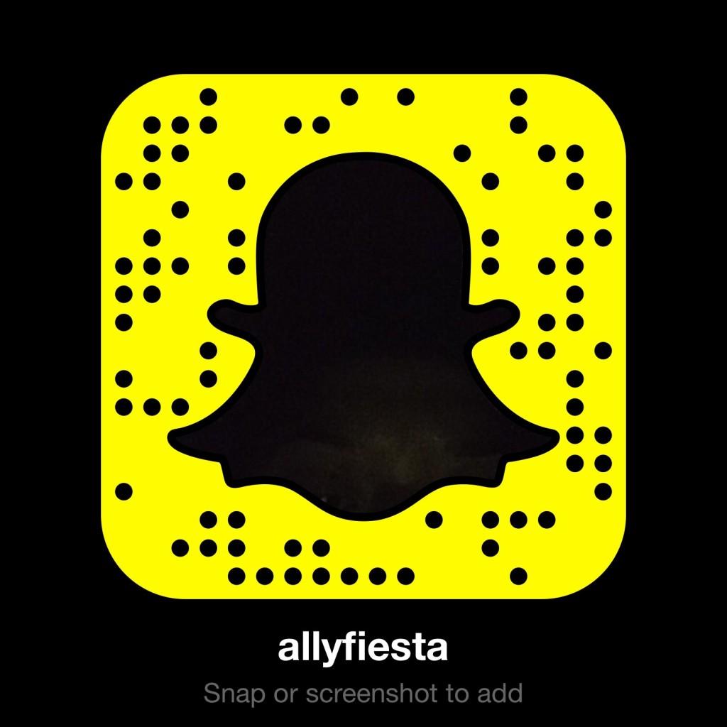 snapchat code AllyFiesta width=
