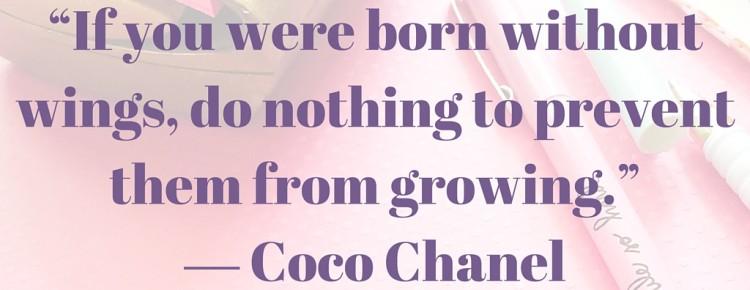 Coco Chanel hydrosupralicked quote